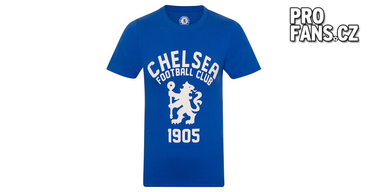 Tričko Chelsea FC 1905 Navy