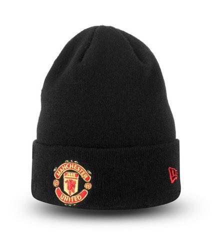 Čiapka Manchester United FC New Era - čierna