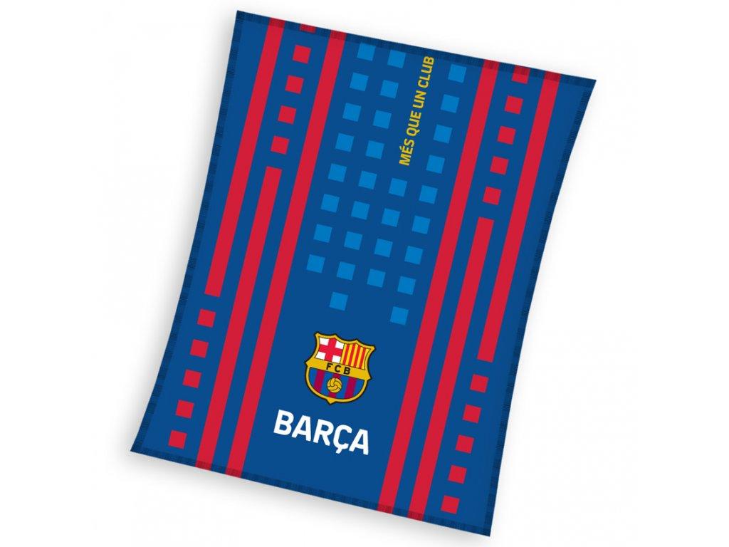 Fleecová deka Barcelona FC