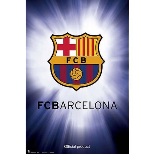 Plagát Barcelona FC Crest