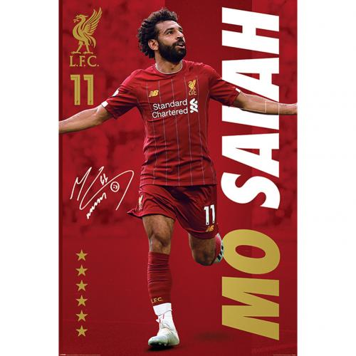 Plagát Liverpool FC Salah