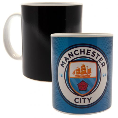 Hrnek Manchester City FC Měnící barvu GR