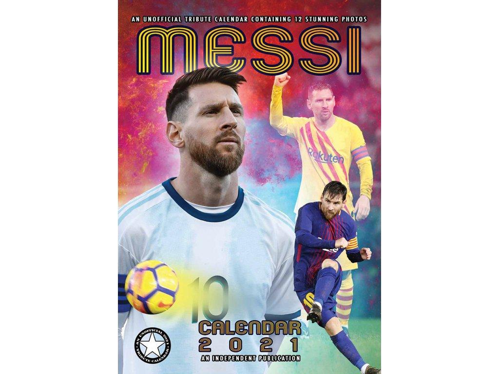Kalendár 2021 Barcelona FC Messi