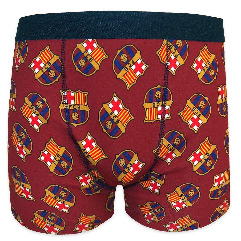 Pánske boxerky Barcelona FC - červené