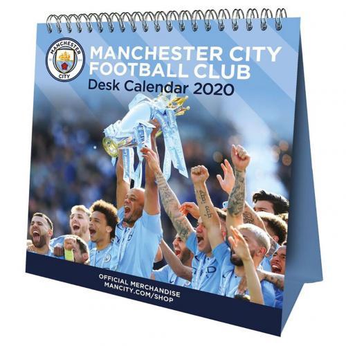 Stolový kalendár 2020 Manchester City FC