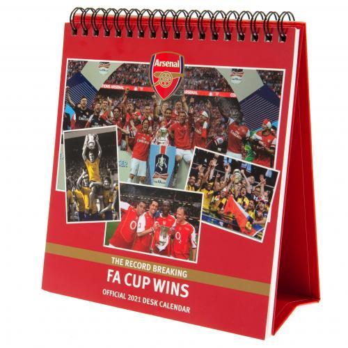 Stolový kalendár 2021 Arsenal FC