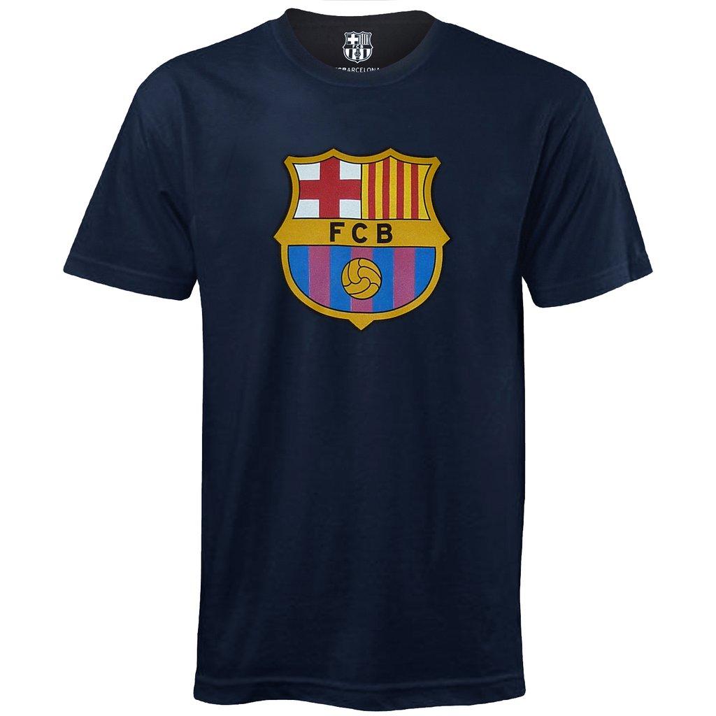 Tričko FC Barcelona Crest Navy