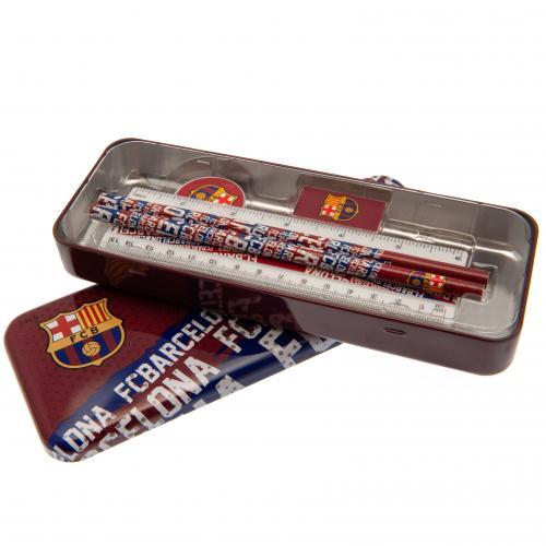 Školský set Barcelona FC plechový