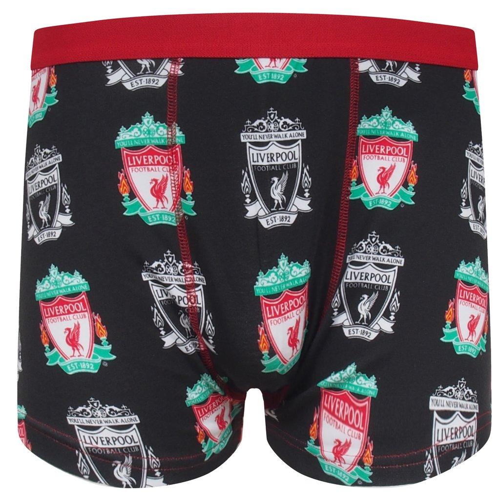 Pánske boxerky Liverpool FC - čierna