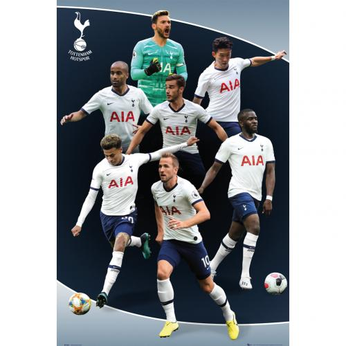 Plagát Tottenham Hotspur FC Players 5