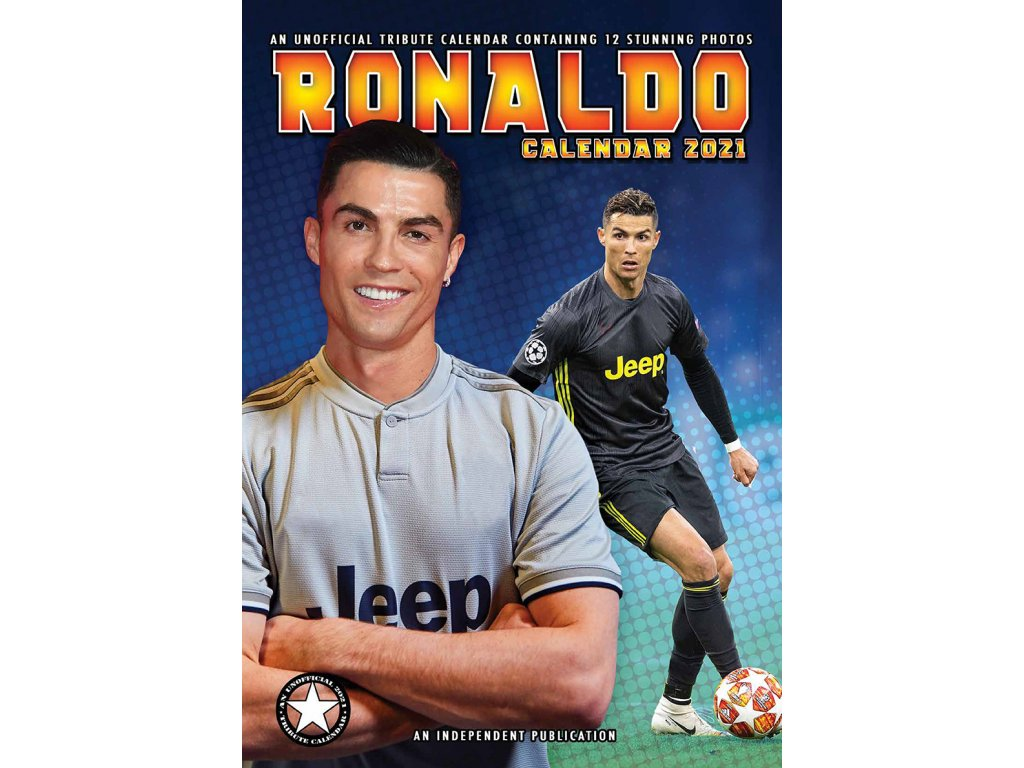 Kalendár 2021 Juventus FC Ronaldo