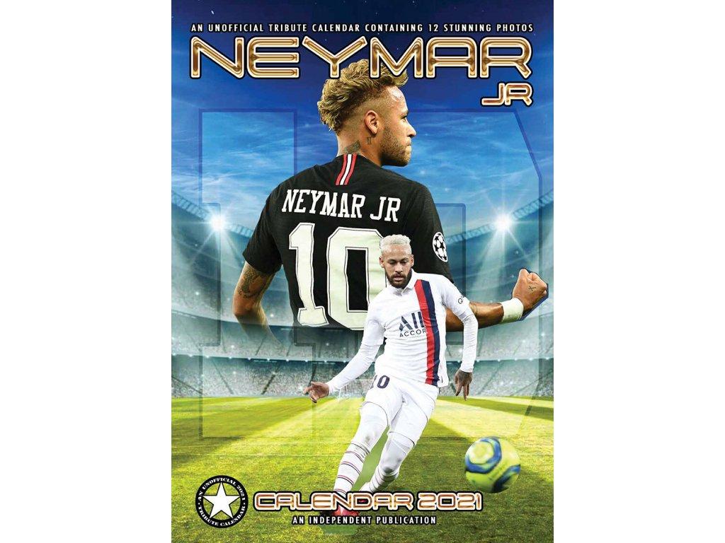 Kalendár 2021 Paris Saint-Germain FC Neymar