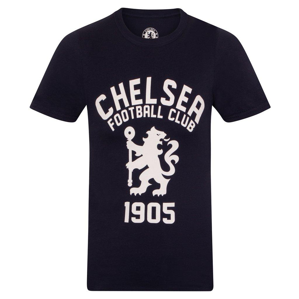 Tričko Chelsea FC Graphic Navy