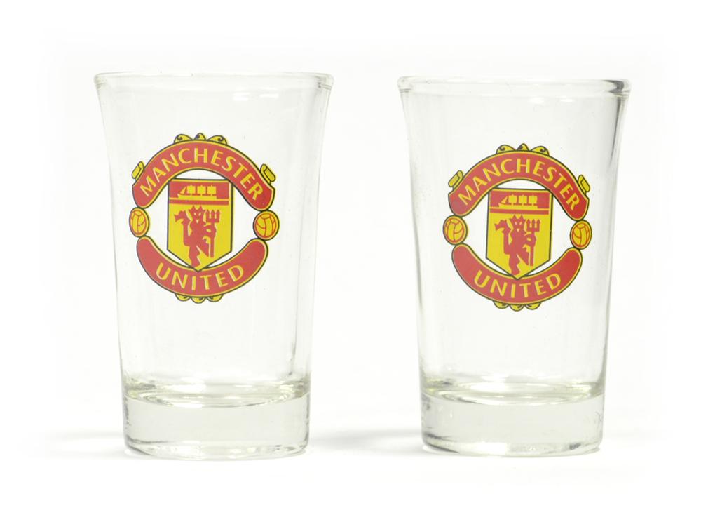 Pohárik Manchester United FC 2ks