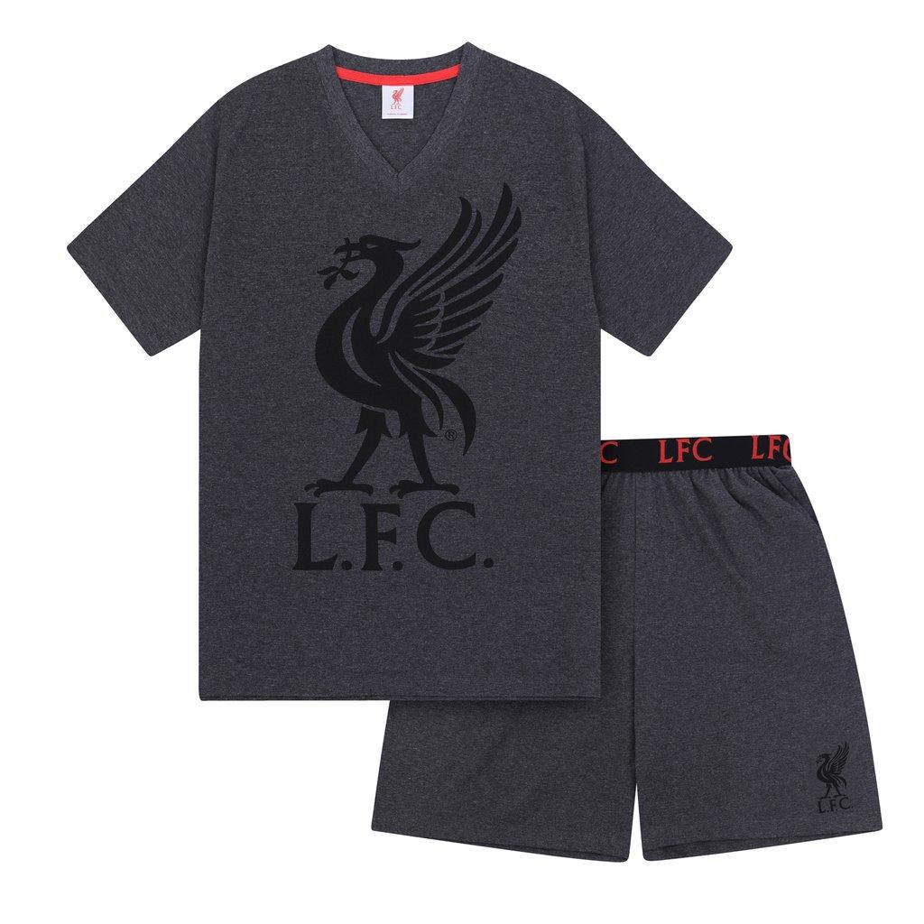 Pánske pyžamo Liverpool FC - šedé