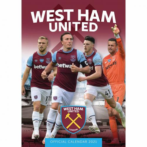 Kalendár 2021 West Ham United FC