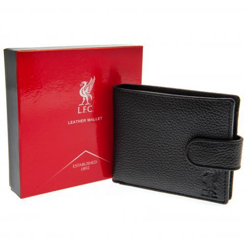 Kožená peněženka Liverpool FC