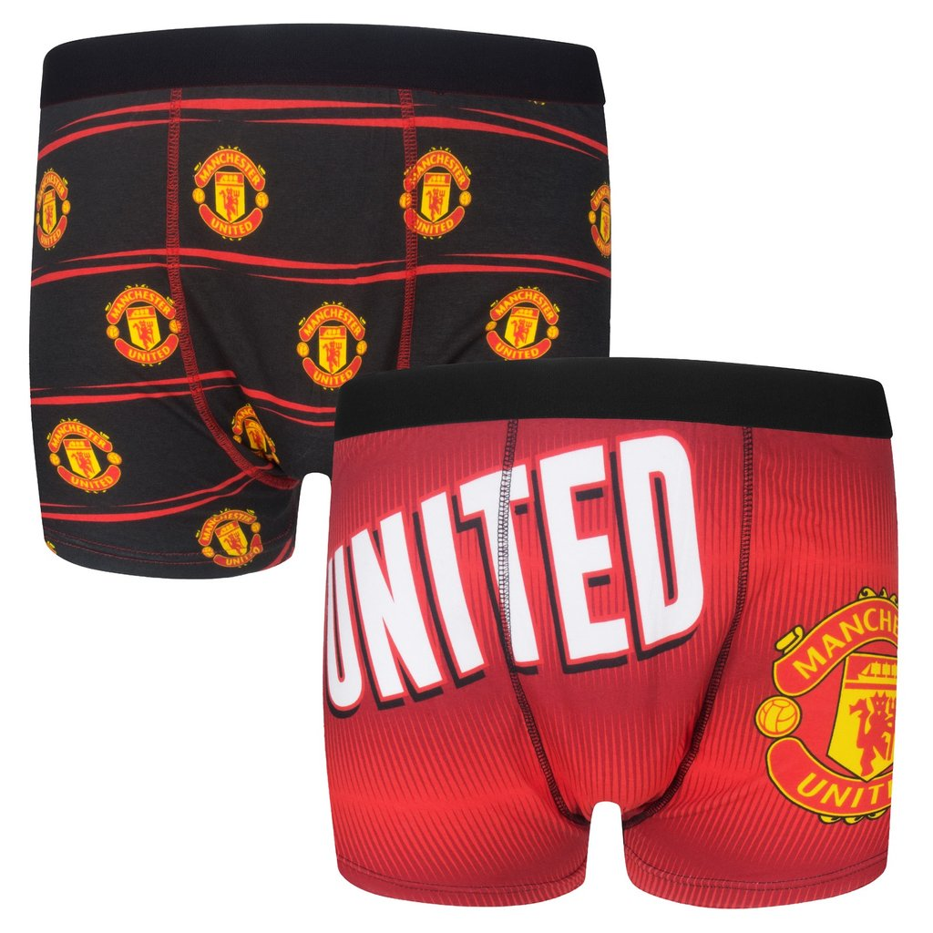 Pánske boxerky Manchester United FC 2ks