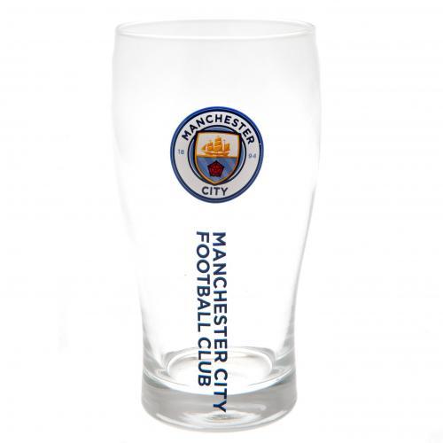 Sklenice Manchester City FC