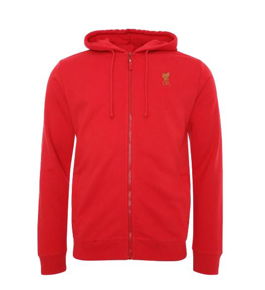 Mikina Liverpool FC Zip Through Hoody