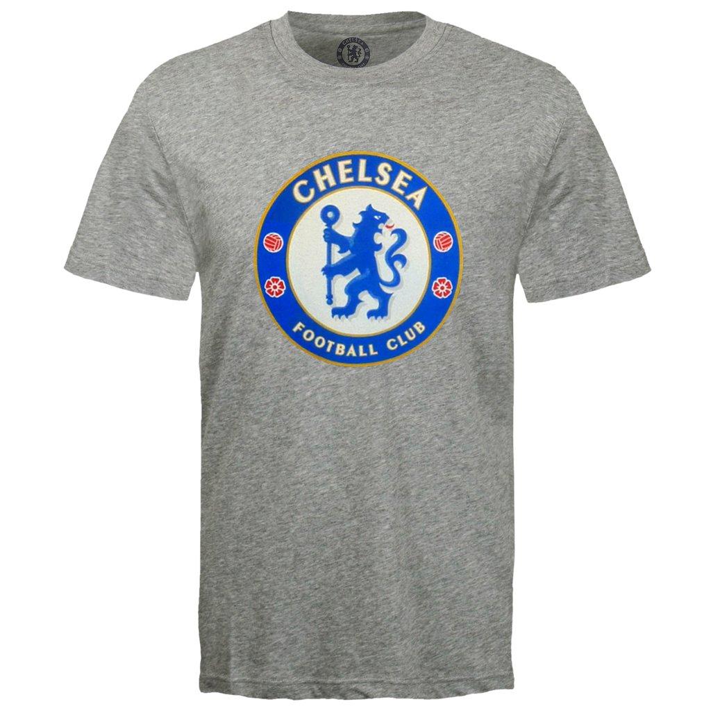 Tričko Chelsea FC Crest - šedá