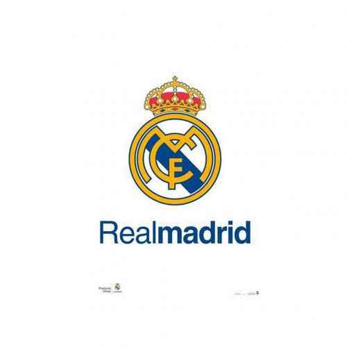 Plagát Real Madrid CF Crest