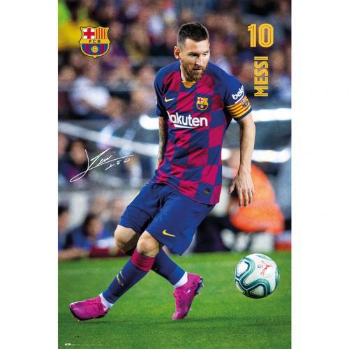 Plagát Barcelona FC Messi