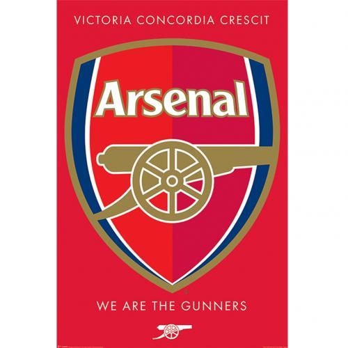Plakát Arsenal FC Crest