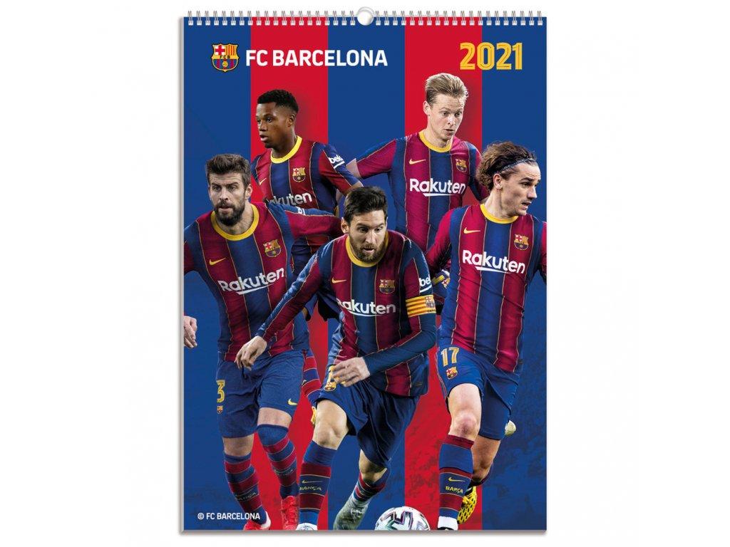 Kalendár 2021 Barcelona FC