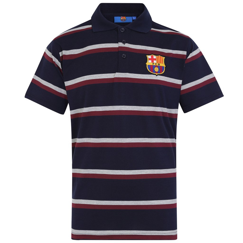 Polo tričko FC Barcelona Striped