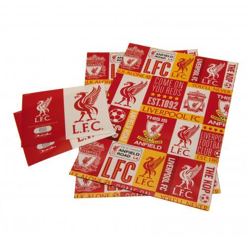 Darčekový papier Liverpool FC