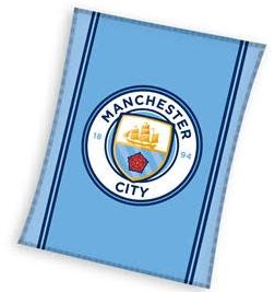 Fleecová deka Manchester City FC