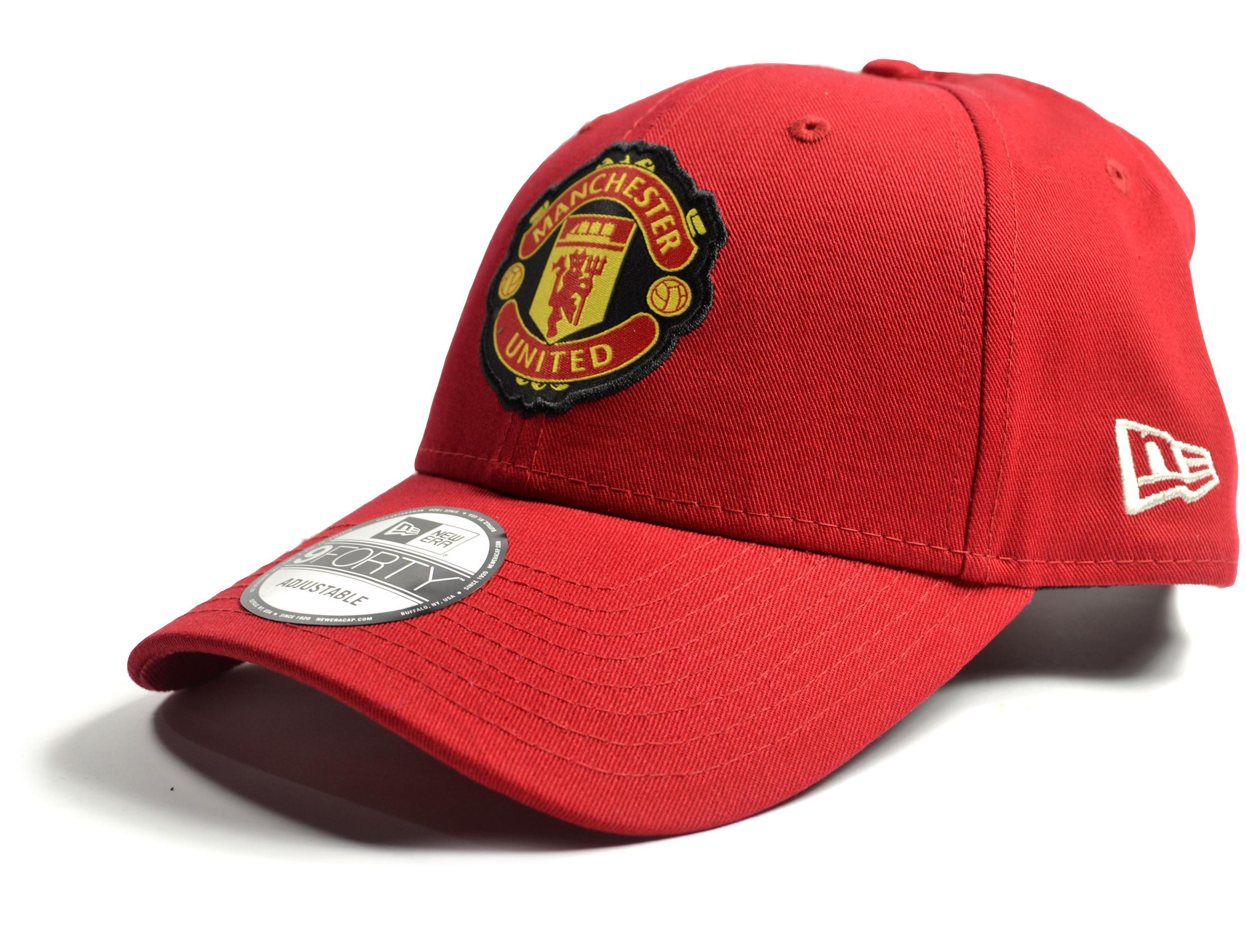 Šiltovka Manchester United FC New Era 9Forty Crest Side