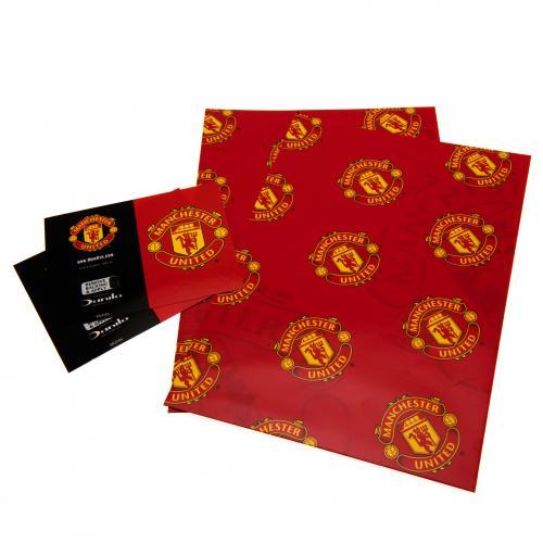Darčekový papier Manchester United FC