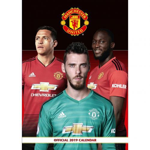 Kalendár 2019 Manchester United FC
