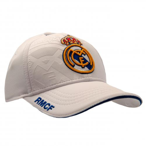 Šiltovka Real Madrid CF - biela