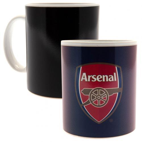 Hrnček Arsenal FC Meniace farbu