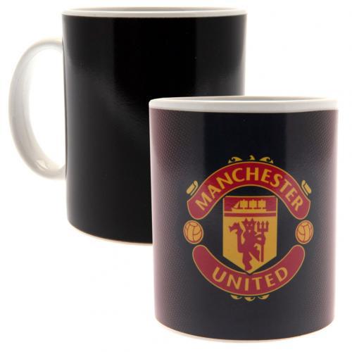 Hrnček Manchester United FC Meniace farbu