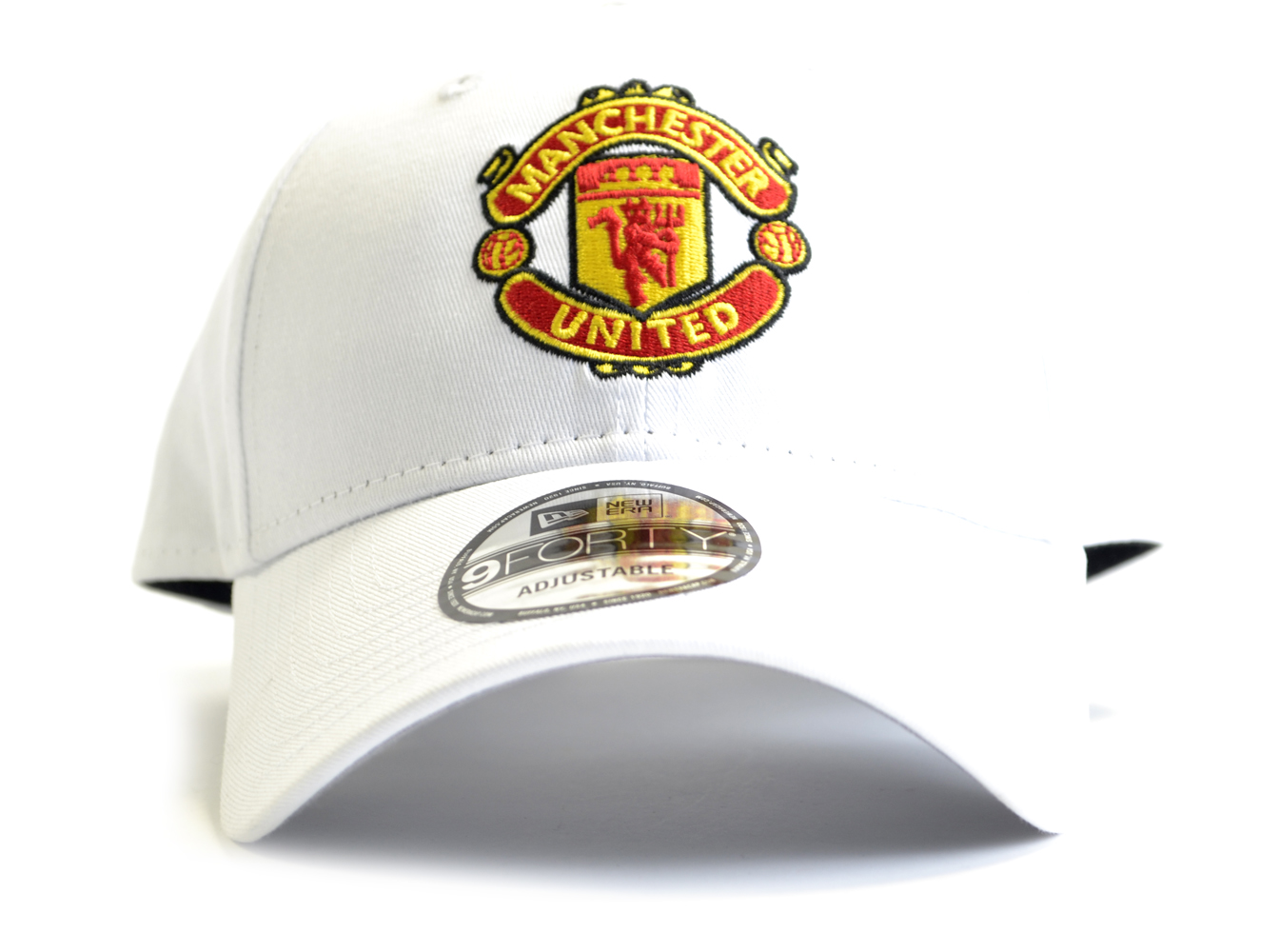 Šiltovka Manchester United FC New Era 9Forty - biela