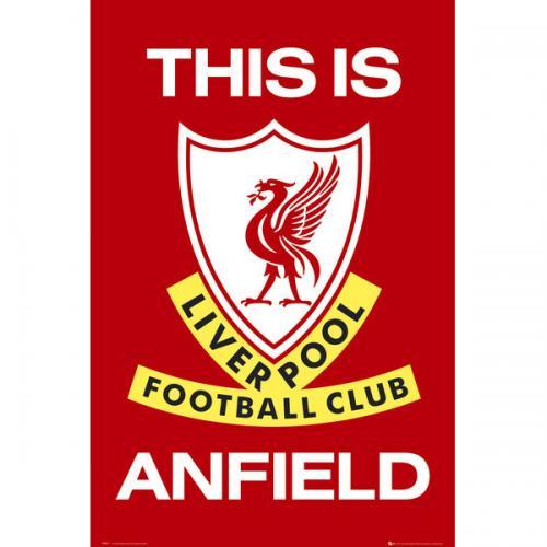 Plagát Liverpool FC Crest