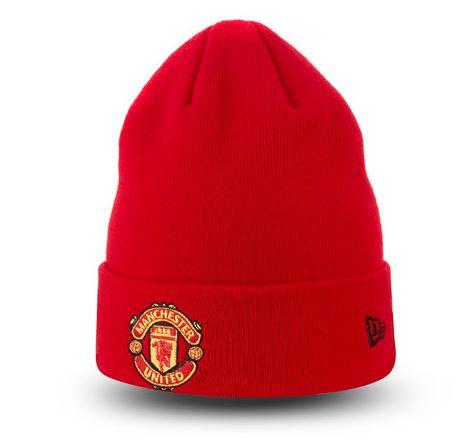 Čiapka Manchester United FC New Era - červená