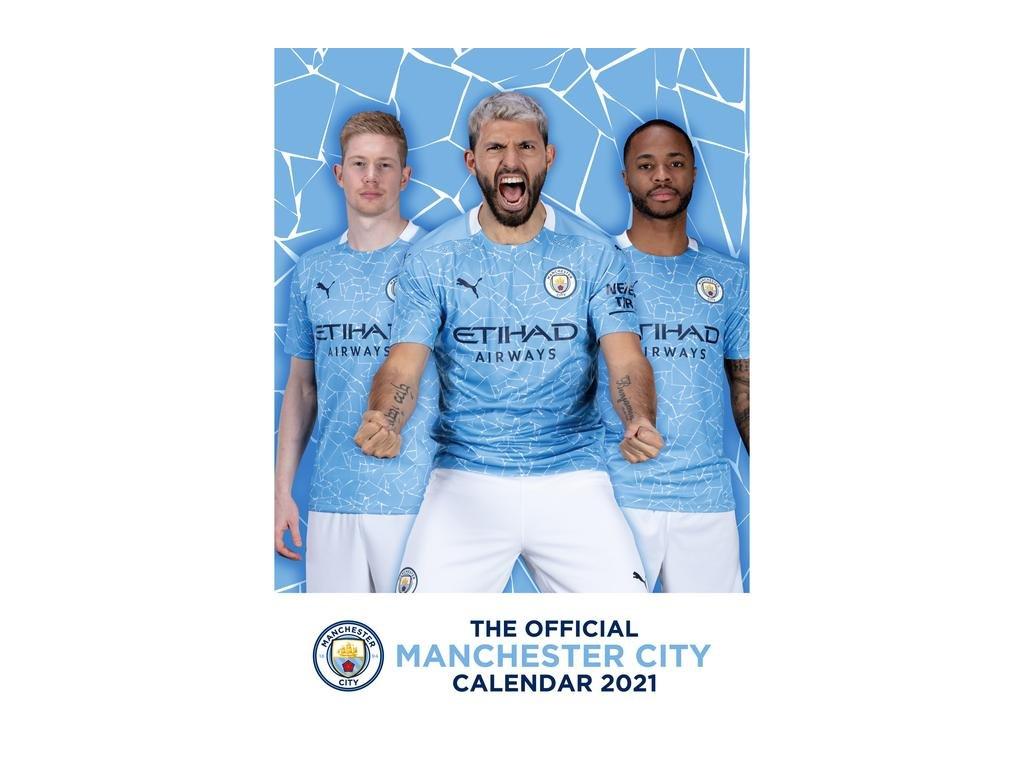 Kalendár 2021 Manchester City FC
