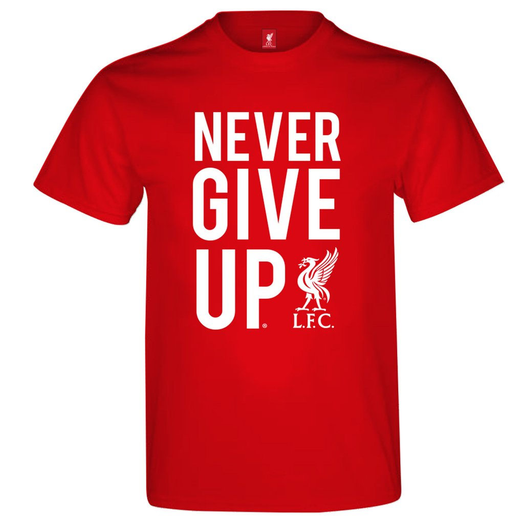Tričko Liverpool FC Never Give Up