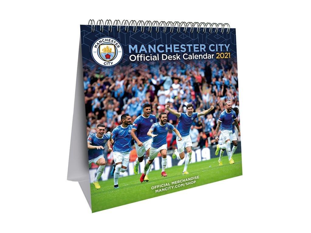 Stolový kalendár 2021 Manchester City FC