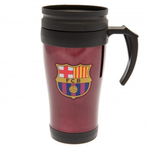 Termohrnček Barcelona FC - červený