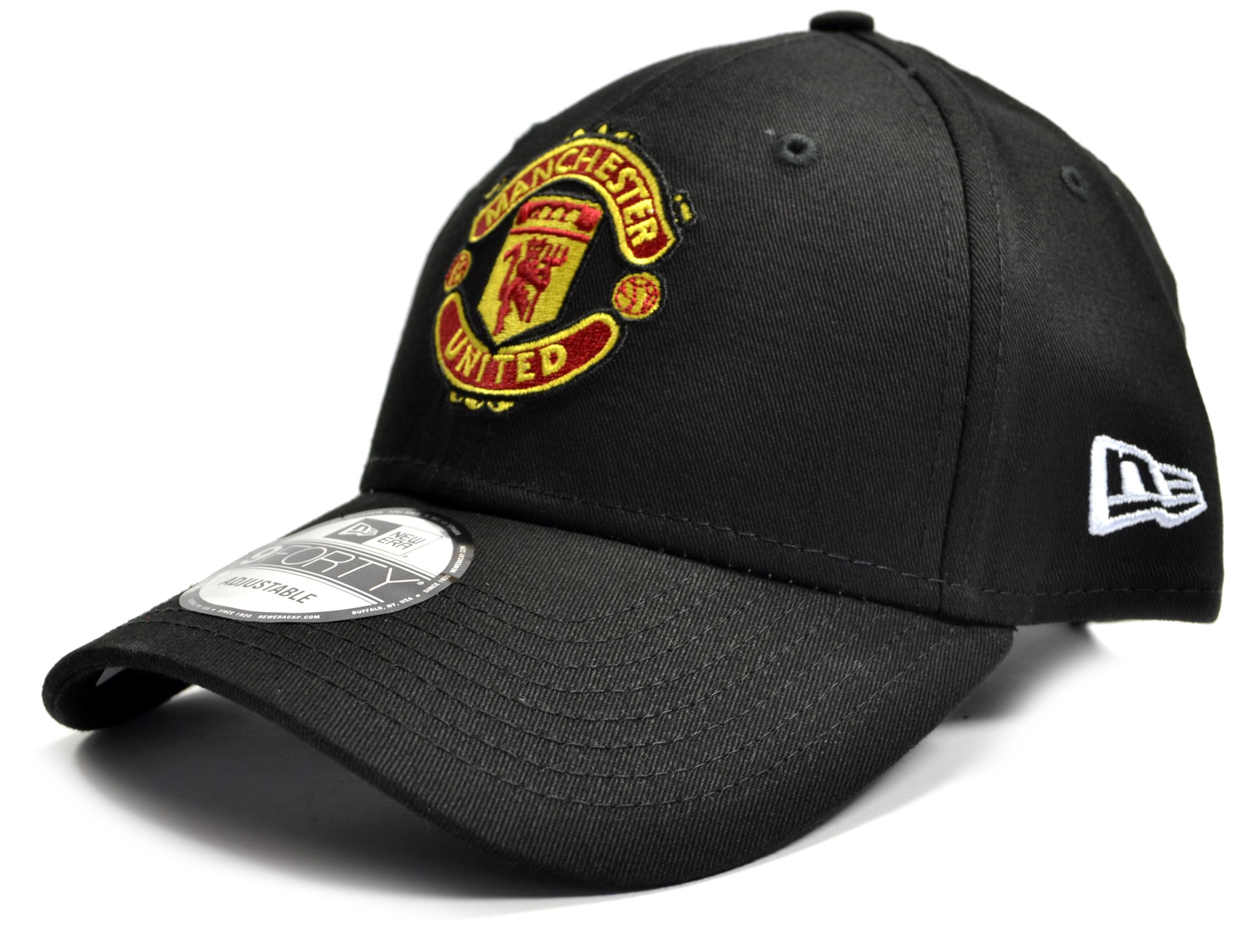 Šiltovka Manchester United FC New Era 9Forty - čierna
