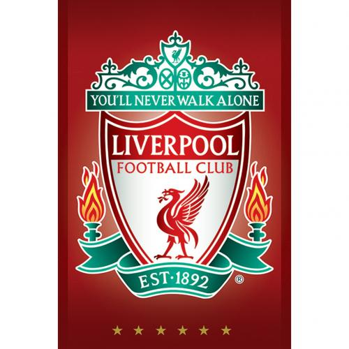 Plagát Liverpool FC Crest 31