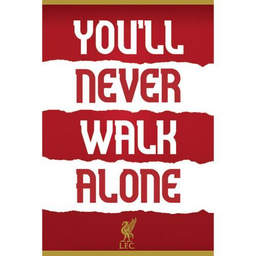 Plagát Liverpool FC YNWA