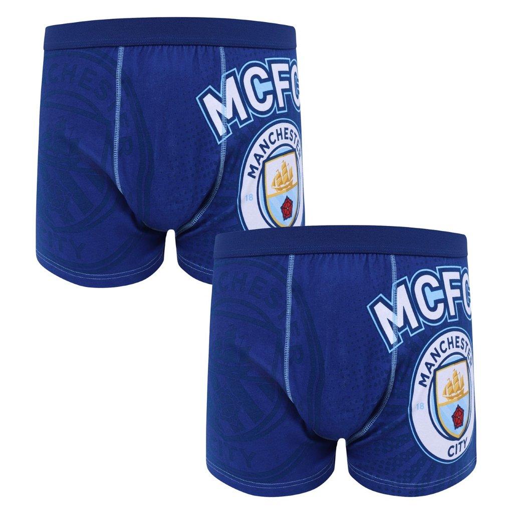 Pánske boxerky Manchester City FC 2ks