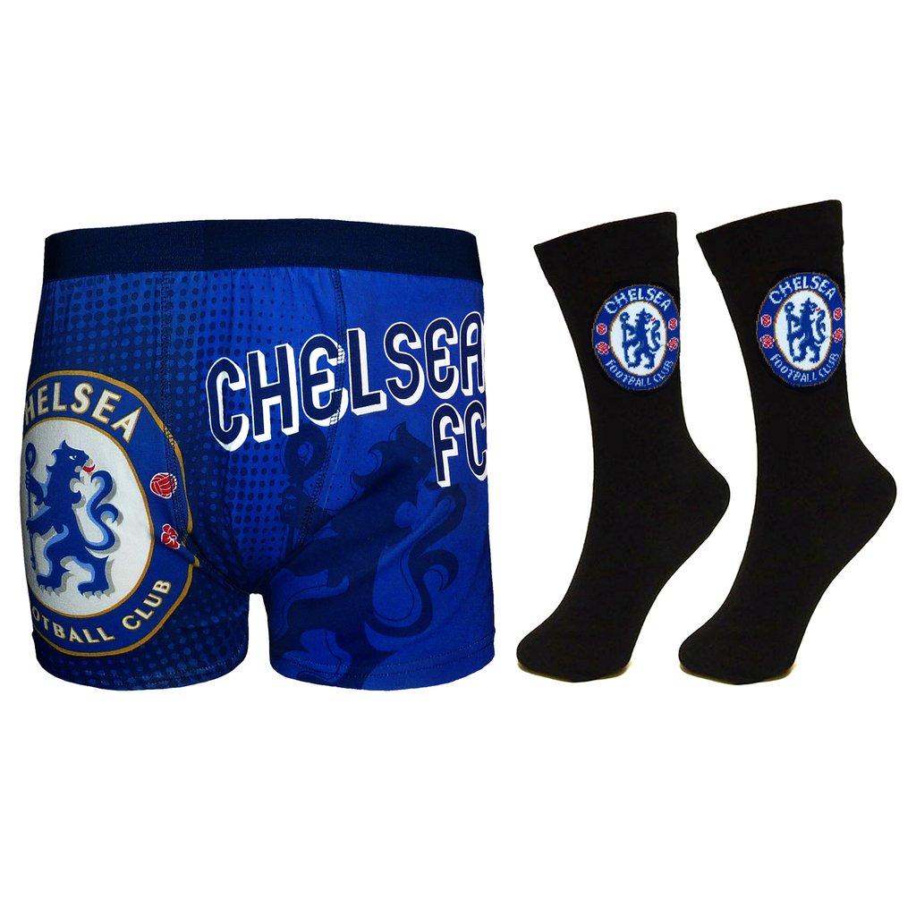 Pánske boxerky a ponožky Chelsea FC Set